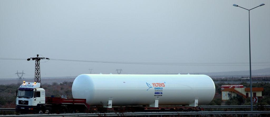 нов цистерна за газ YILTEKS Lpg Storage Tank 180m3