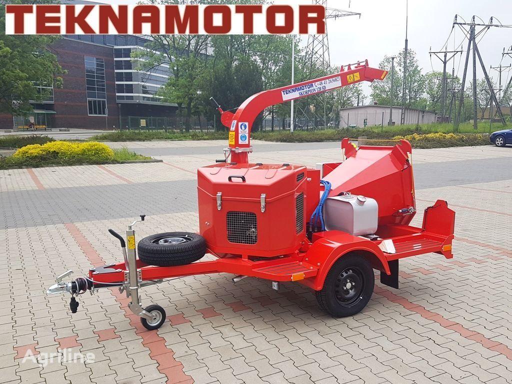 нов дробилка за клони TEKNAMOTOR Skorpion 120 SD