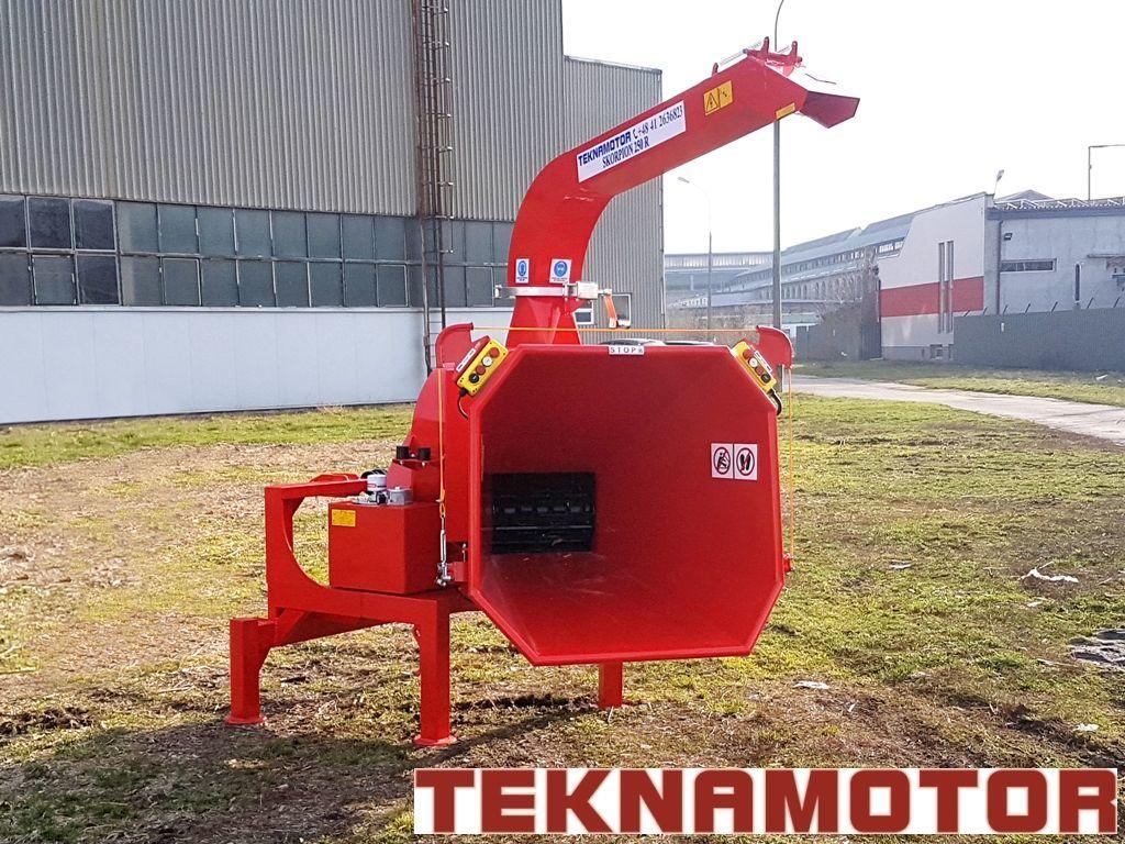 нов дробилка за клони TEKNAMOTOR Skorpion 250R