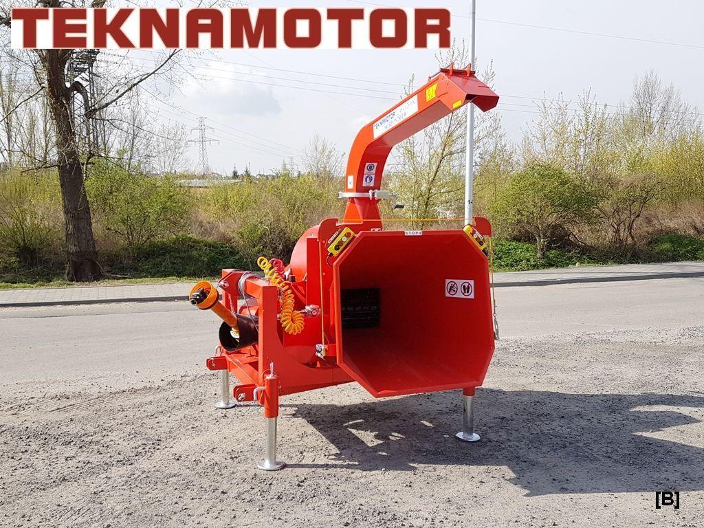 нов дробилка за клони TEKNAMOTOR Skorpion 250R/90