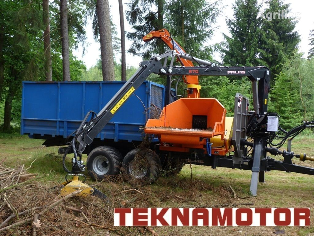 нов дробилка за клони TEKNAMOTOR Skorpion 350 RBP