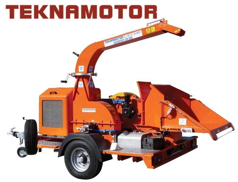 нов дробилка за клони TEKNAMOTOR Skorpion 350 SDB