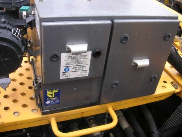 друго оборудване Onbekend Amberg (432)Schutzbelüft. / protective ventilation