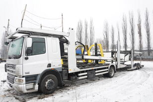 автовоз DAF CF 75 360 , E5 , 4x2 ,MEGA , LOHR , retarder , sleep cab + ремарке автовоз