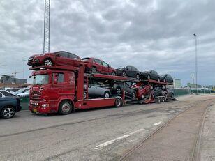 автовоз SCANIA 580 V8 KTT Metago/Supertrans 10-Autos Euro6 + ремарке автовоз