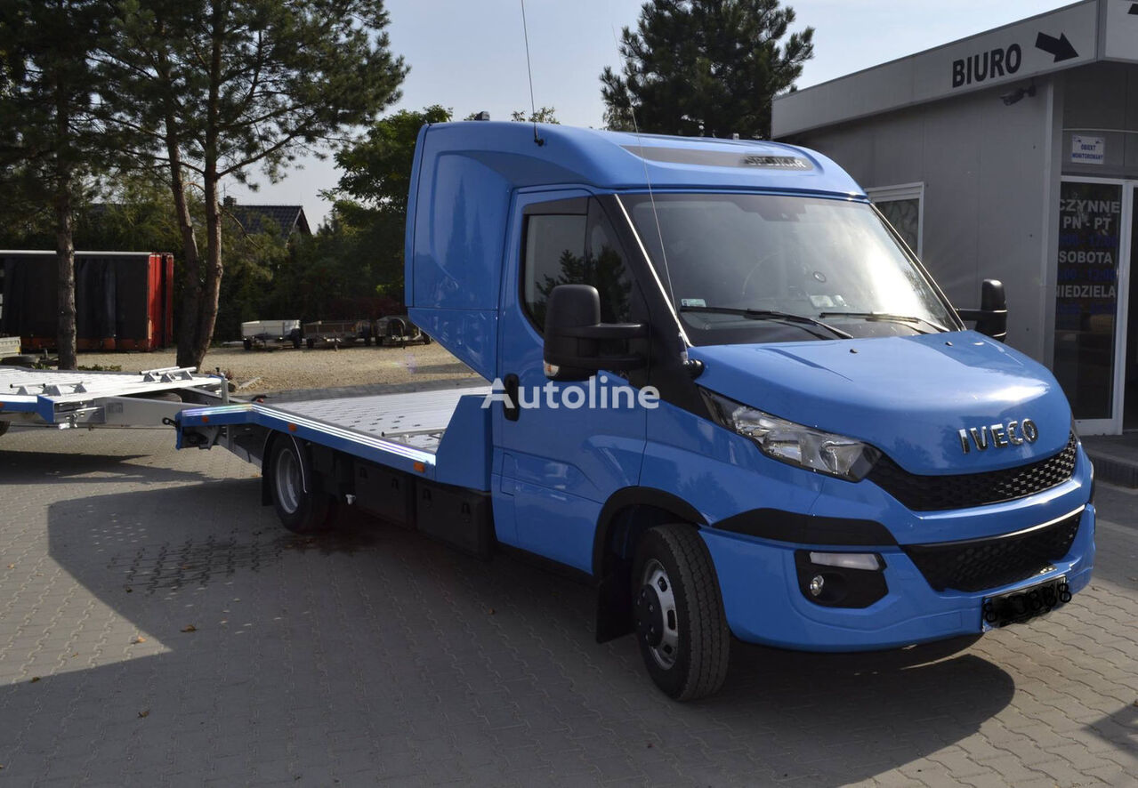 iveco daily 50c18 autotransporter 1 3 auto finanzierung. Black Bedroom Furniture Sets. Home Design Ideas