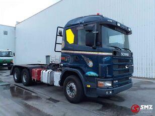 бордови камион SCANIA 144 530 6x4 lames/meca