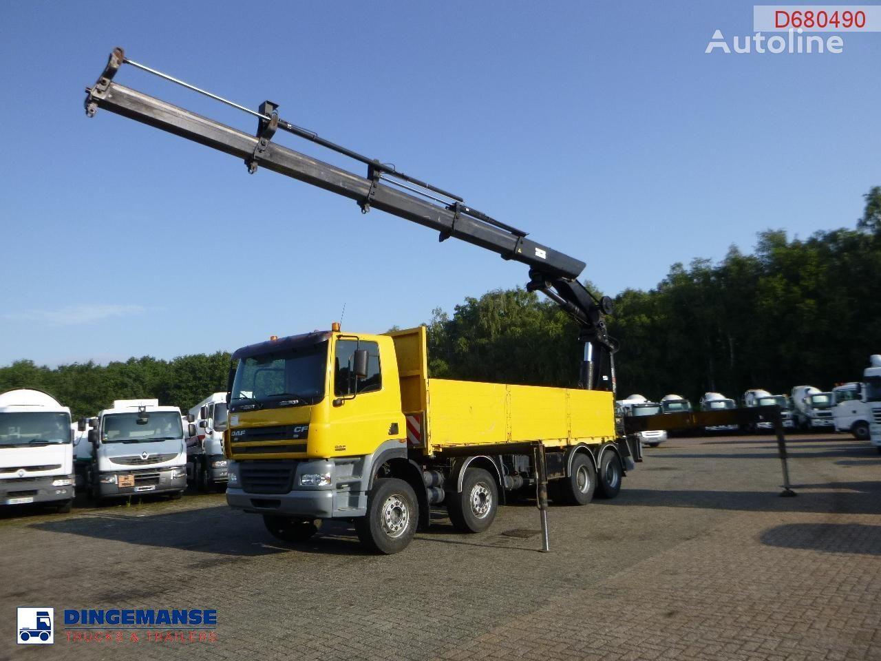 бордови камион DAF CF 85.480 8x4 + Hiab 700 EP-4 Hipro