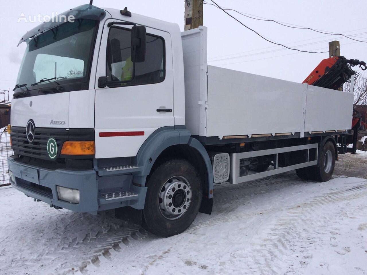 бордови камион MERCEDES-BENZ ATEGO 1828 Palfinger PK 13000