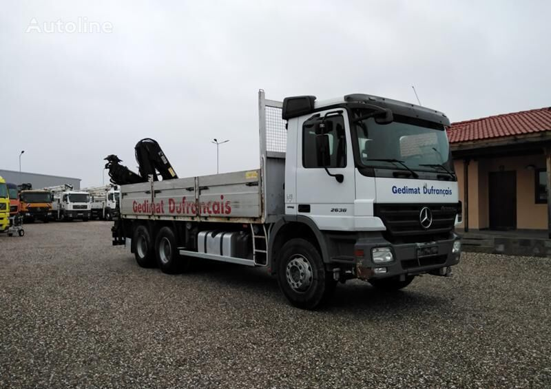 бордови камион MERCEDES-BENZ Actros 2636