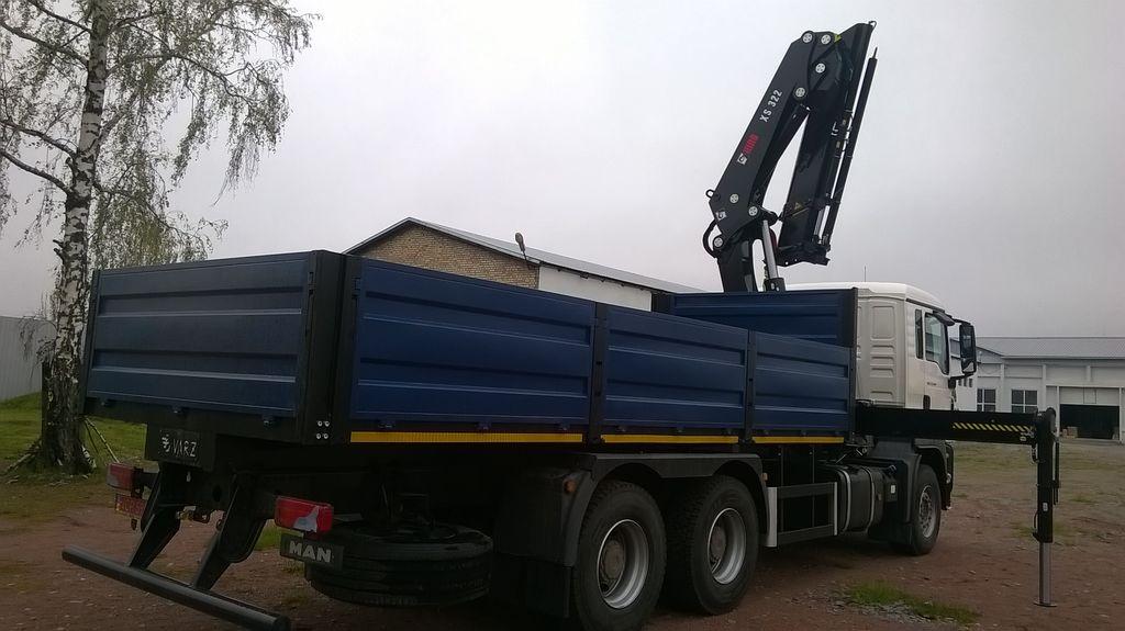 нов бордови камион MERCEDES-BENZ Actros 3 3336 AK 6X4