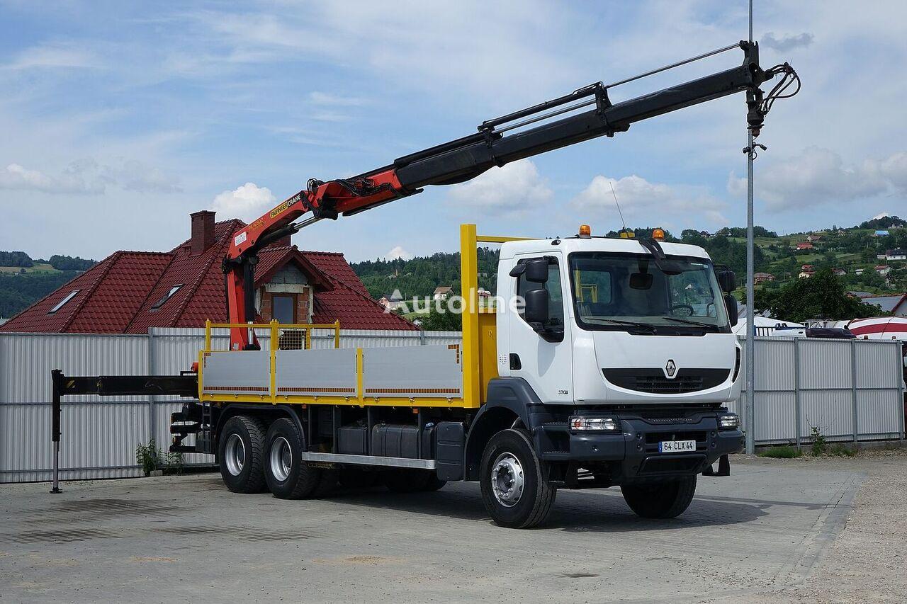 бордови камион RENAULT Kerax 370 DXI* Pritsche 6,70m+Kran*6x4Topzustand