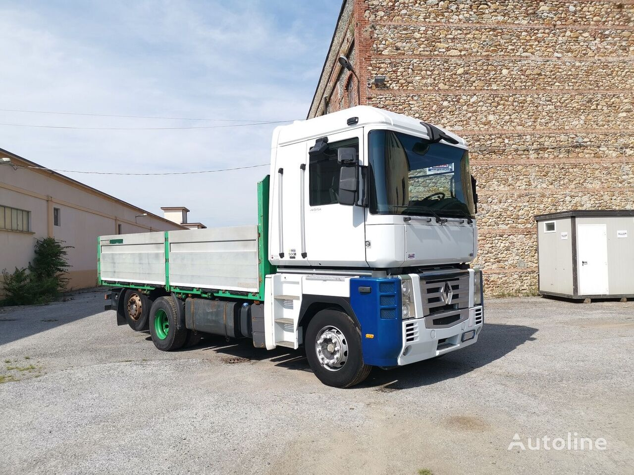 бордови камион RENAULT MAGNUM 500 DXI EURO 5 RETARDER + RIMORCHIO
