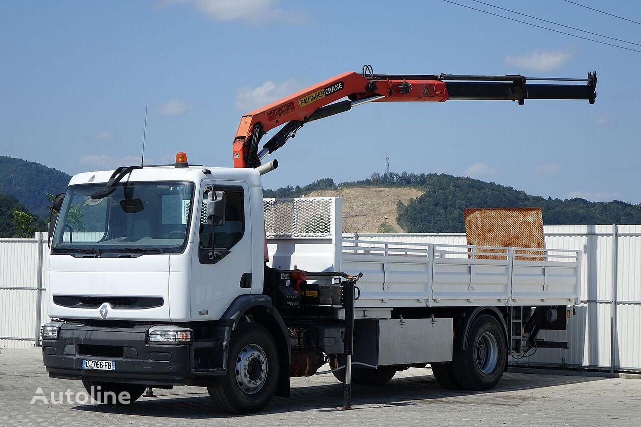 бордови камион RENAULT Premium 270 * Pritsche 6,20 m + KRAN!