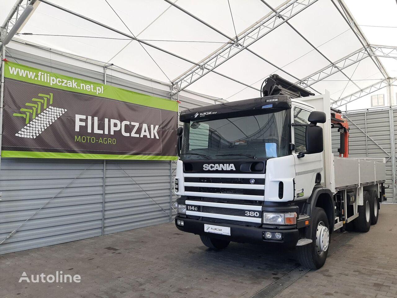бордови камион SCANIA 114 C 380