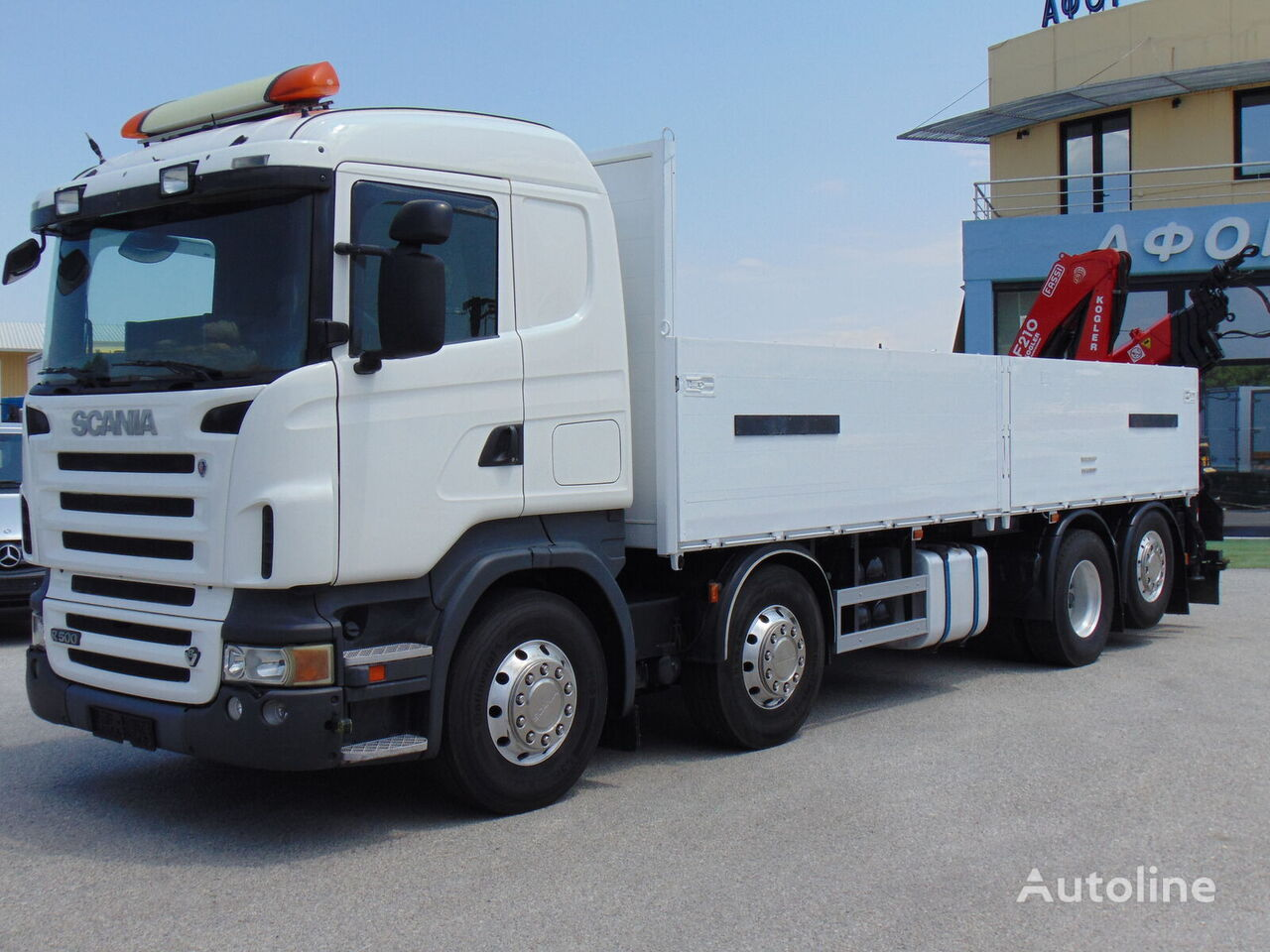 бордови камион SCANIA R 500 8X2