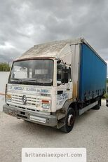брезентов камион RENAULT Midliner M140.13 left hand drive 6 cylinder 13 ton full springs