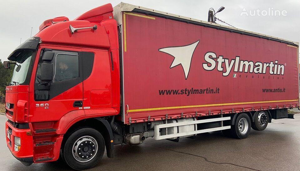 брезентов камион IVECO Stralis 360 260S36 6x2