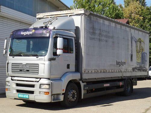 брезентов камион MAN TGA 18.320