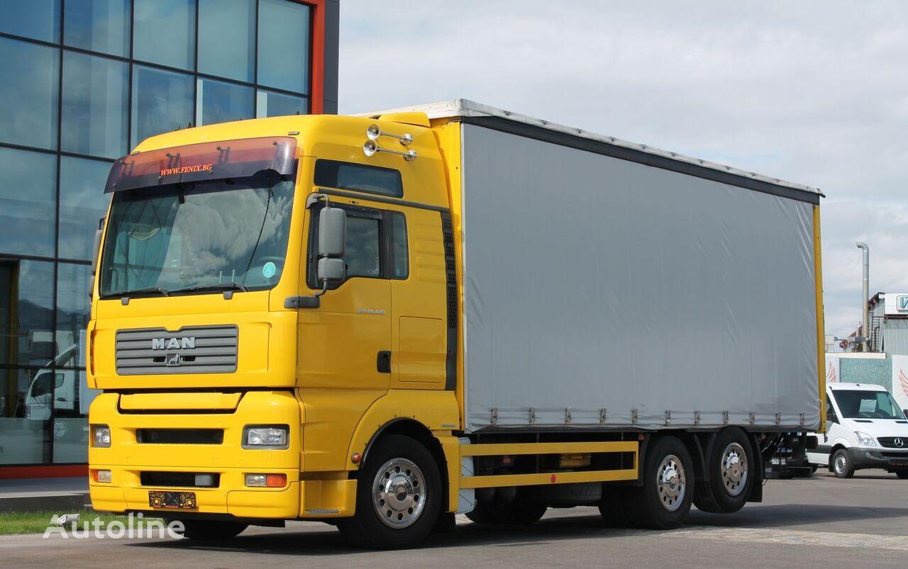 брезентов камион MAN TGA 26.440, Интардер, Е5