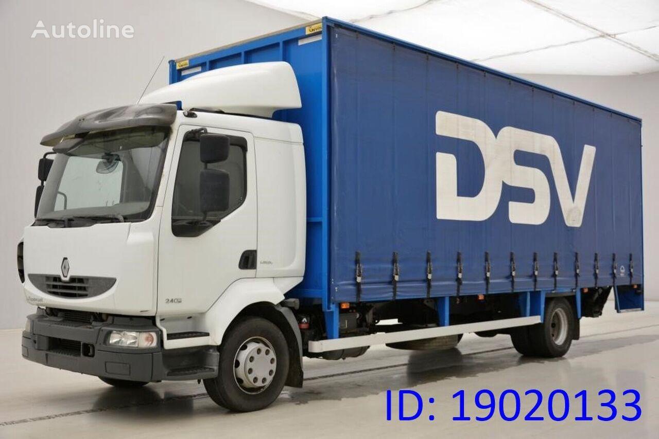 брезентов камион RENAULT Midlum 240 Dxi