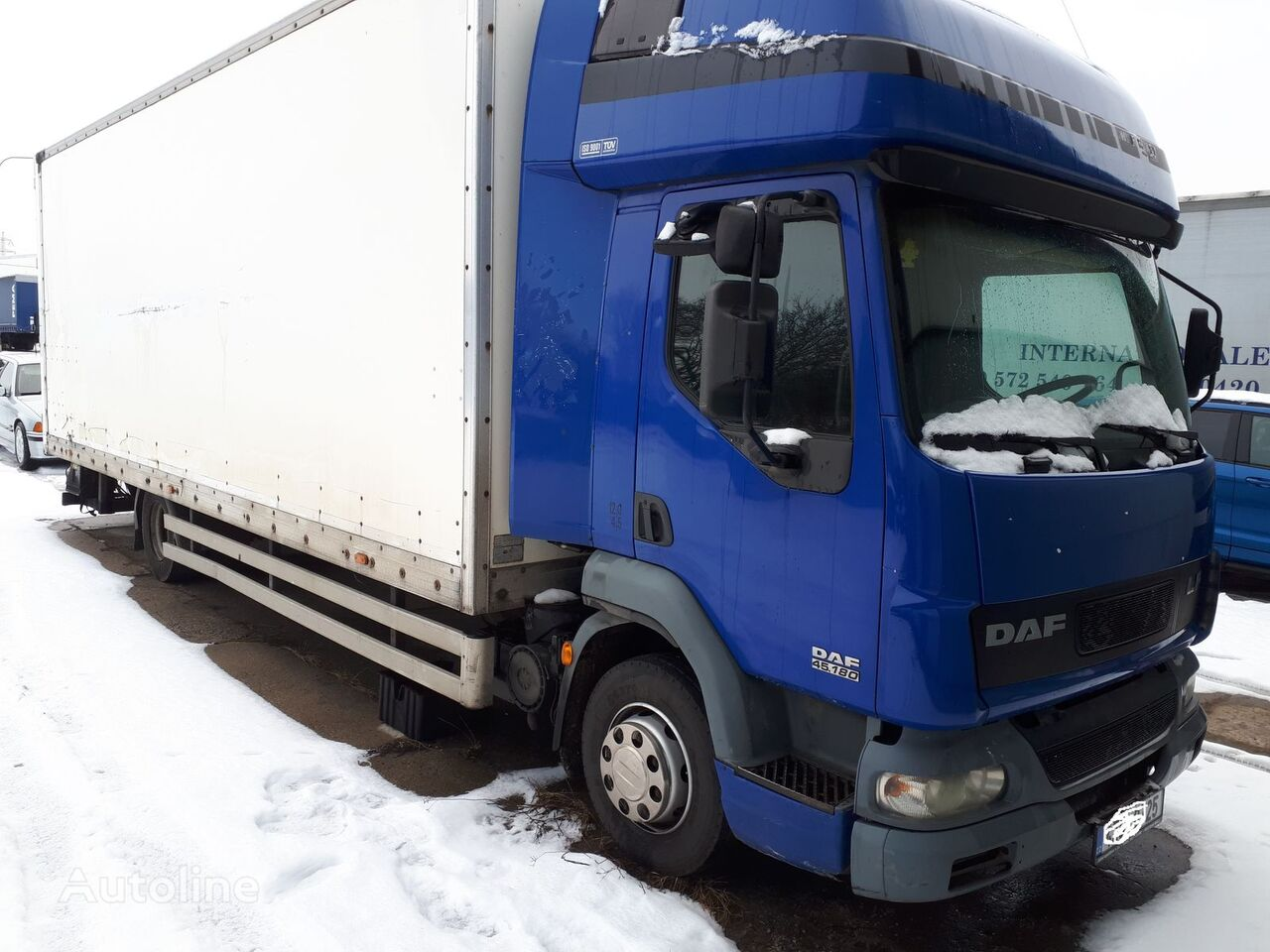 изотермичен камион DAF LF45 FA 180