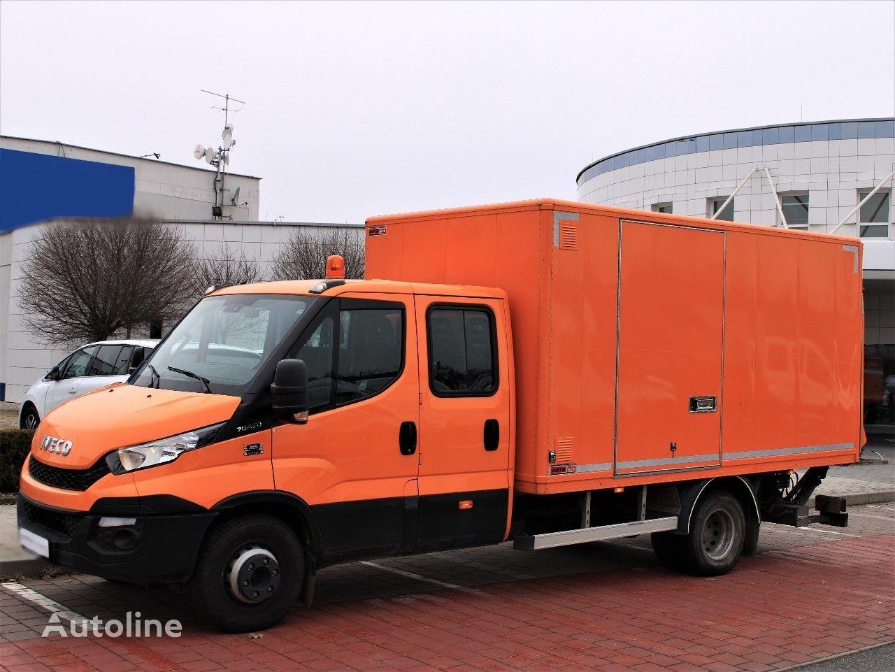 изотермичен камион IVECO Daily 125kW, topení, záruka, servis
