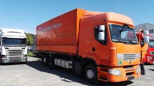 камион брезент RENAULT PREMIUM 460