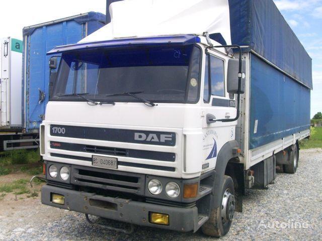 камион брезент DAF 1700
