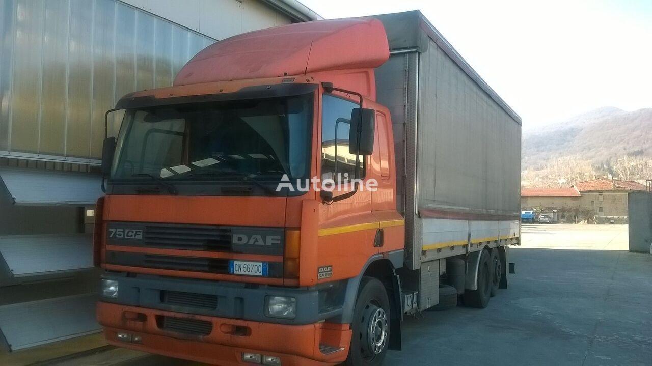 камион брезент DAF CF 75.290