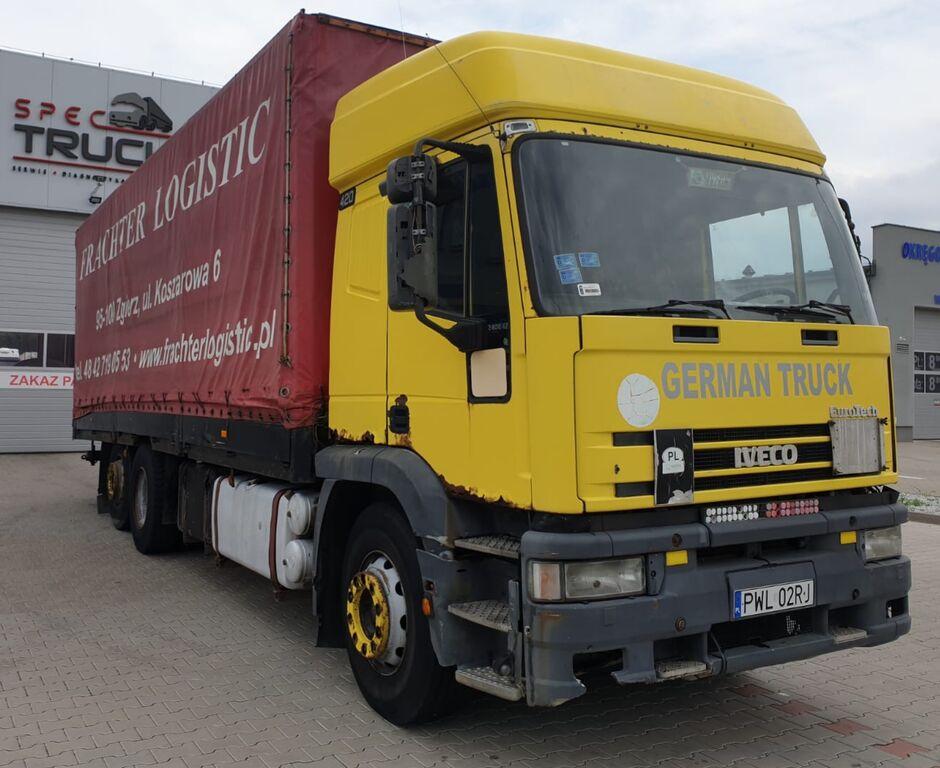 камион брезент IVECO Eurotech 240E420