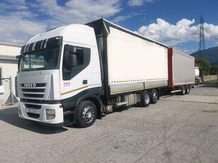 камион брезент IVECO Iveco Stralis 420 + ремарке брезент