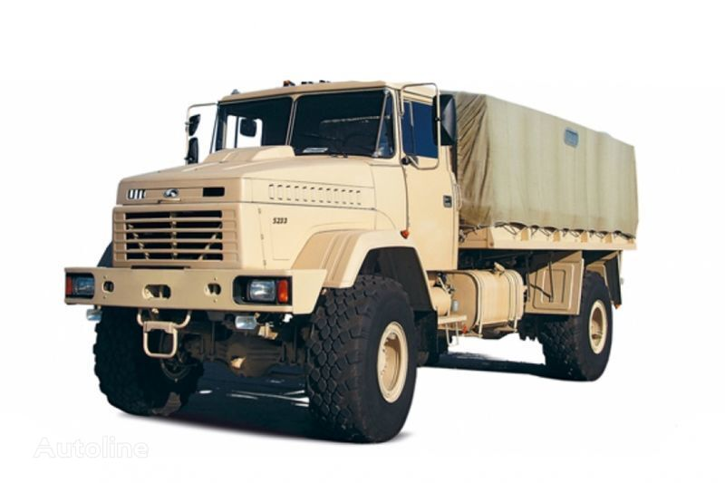 камион брезент КРАЗ 5233ВЕ