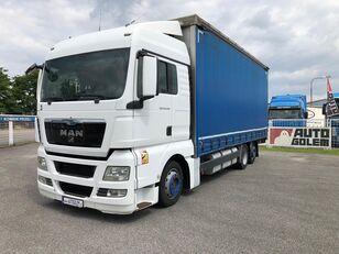 камион брезент MAN TGX 24.440 flatbed