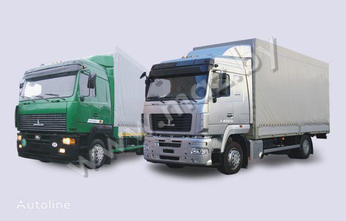 камион брезент МАЗ 5340 (19, E9)