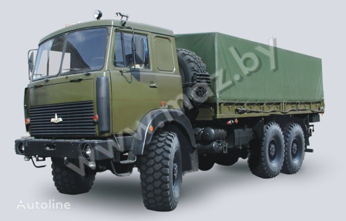 камион брезент МАЗ 6317 (08, 09) Полноприводный