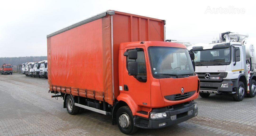 камион брезент RENAULT KERAX 220