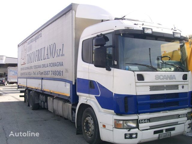камион брезент SCANIA 144L460
