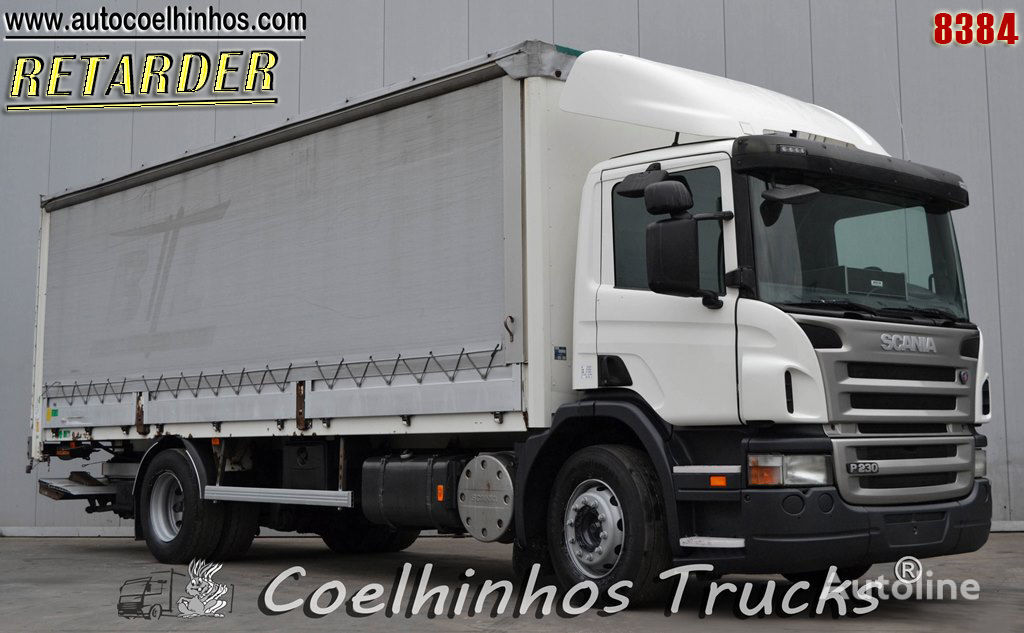 камион брезент SCANIA P 230