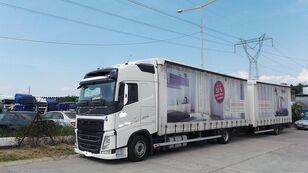 камион брезент VOLVO fh 420 EURO 6 + ремарке брезент
