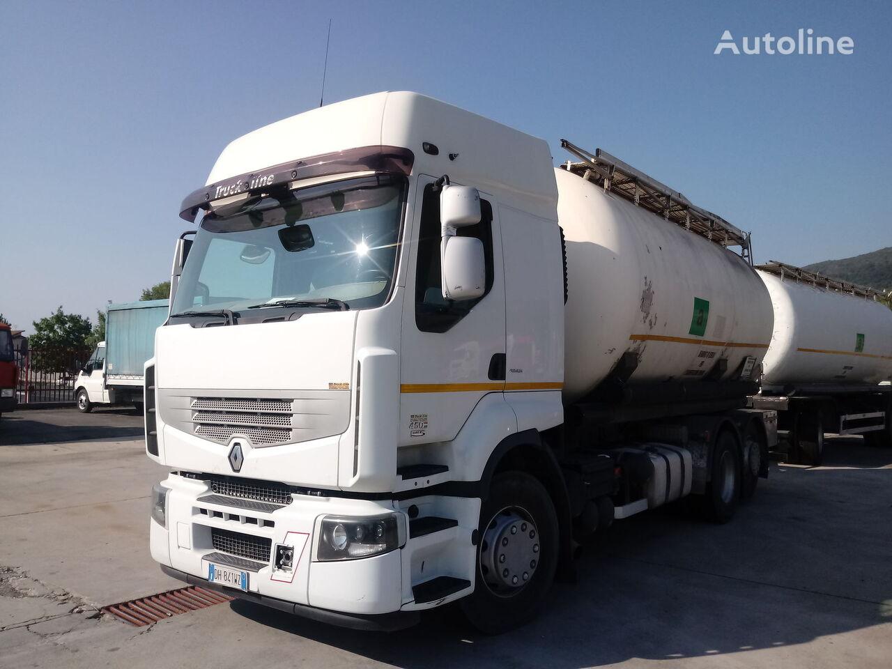 камион цистерна за брашно RENAULT PREMIUM 450 DXI