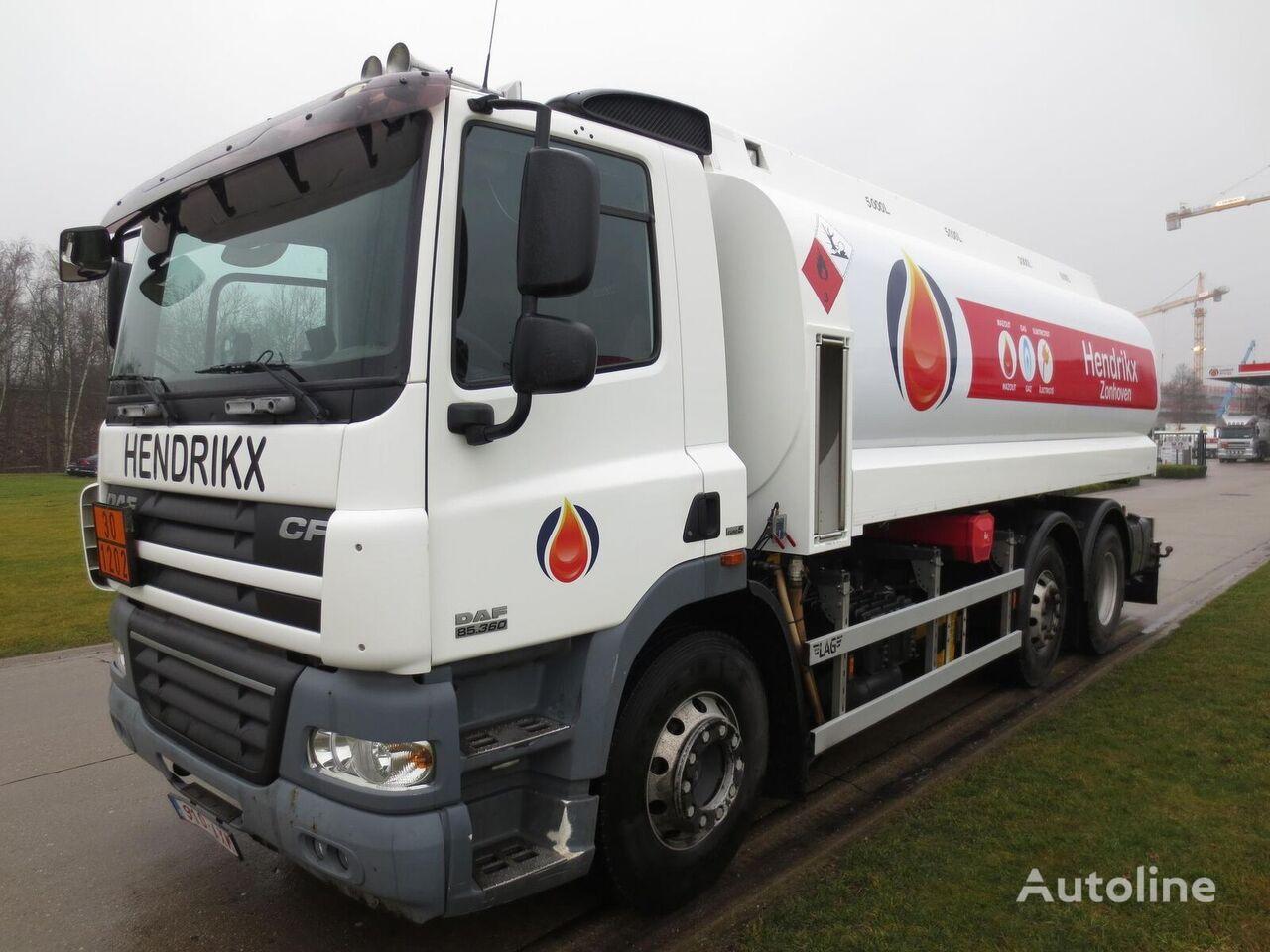 камион цистерна за горива DAF 360 HP