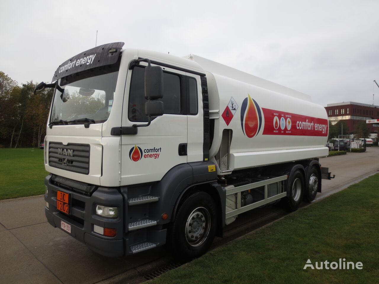 камион цистерна за горива MAN