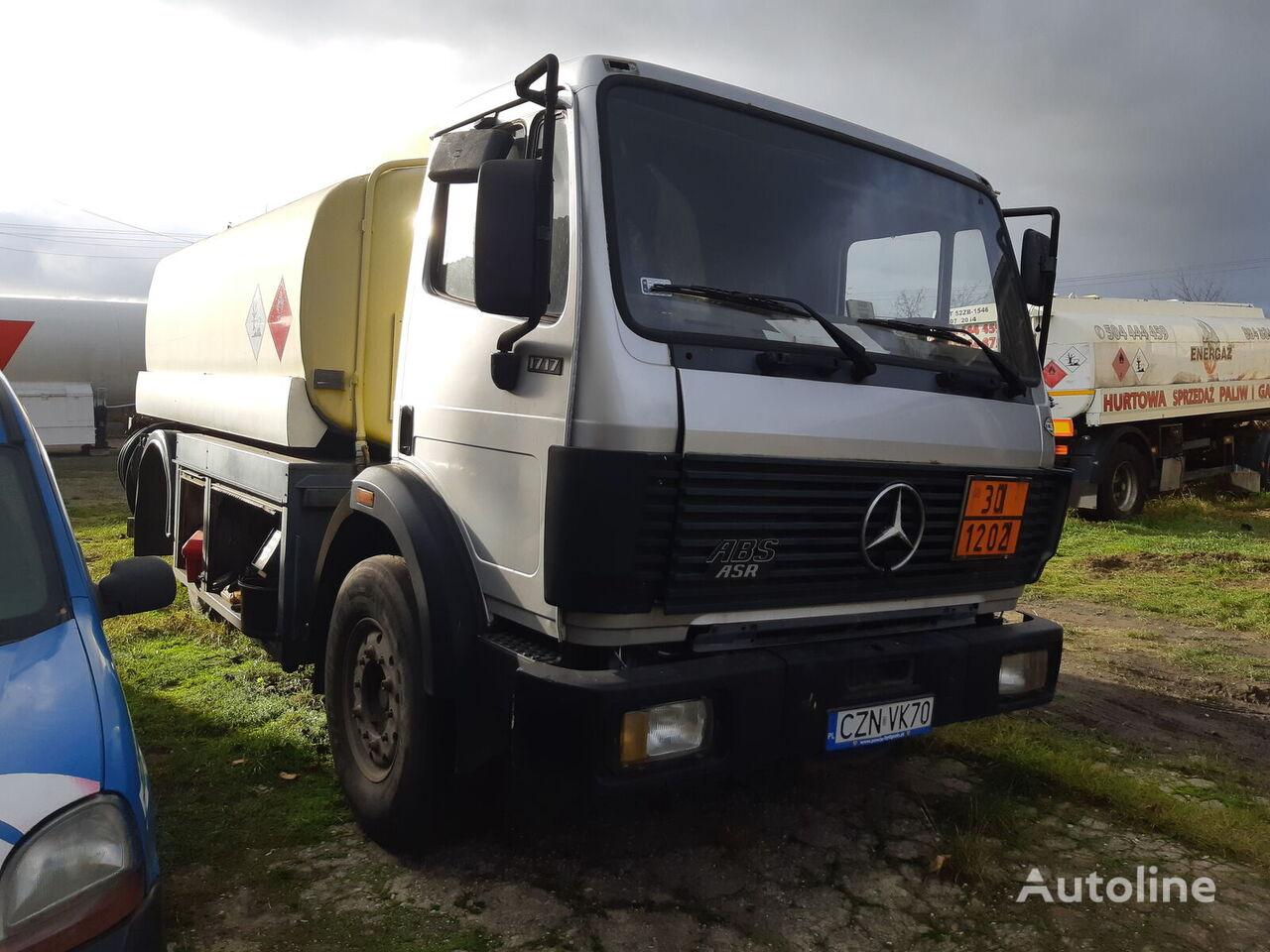 камион цистерна за горива MERCEDES-BENZ 1717/ 13300L /  STEEL