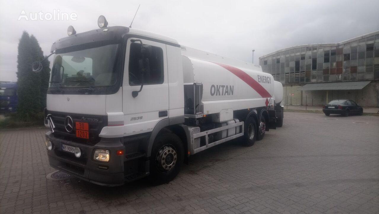 камион цистерна за горива MERCEDES-BENZ ACTROS 2536L