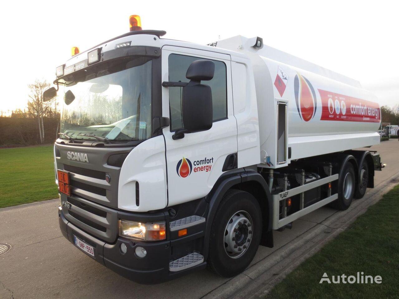 камион цистерна за горива SCANIA