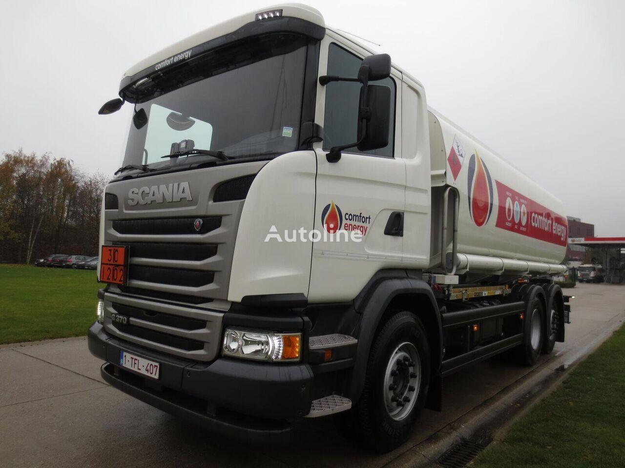 камион цистерна за горива SCANIA G370