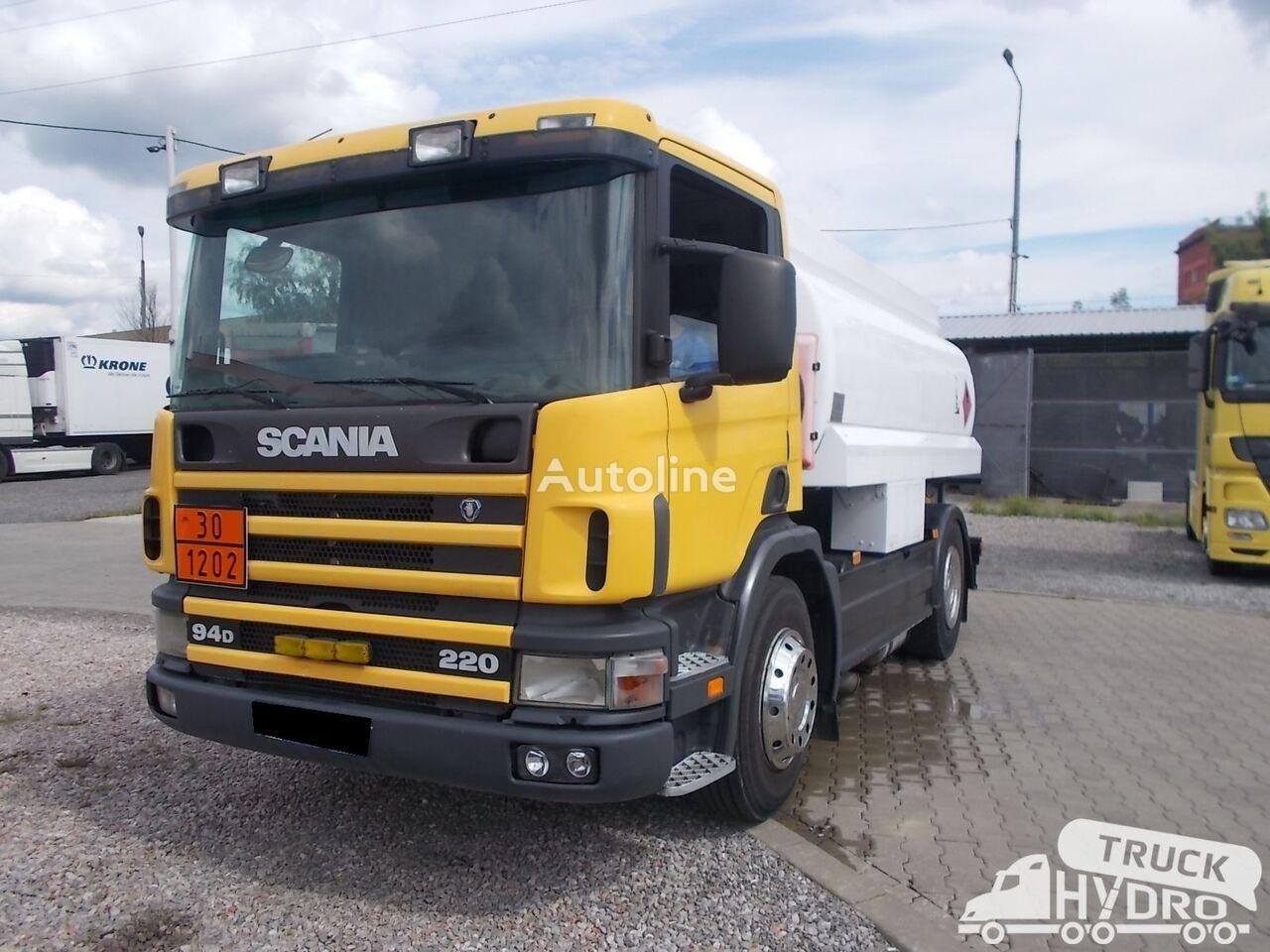 камион цистерна за горива SCANIA P 94 - STAN BARDZO DOBRY !!