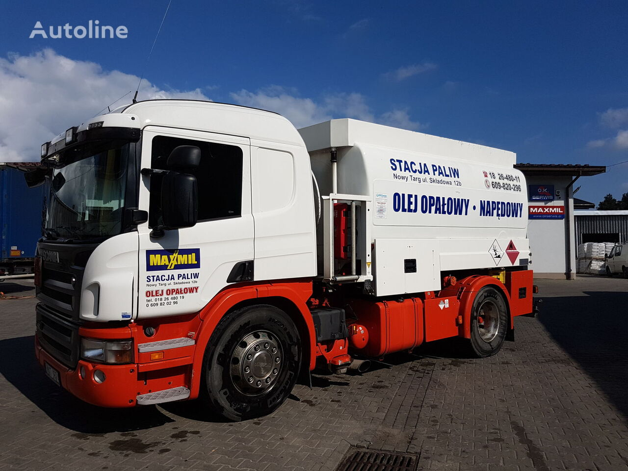 камион цистерна за горива SCANIA P420