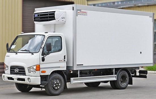 нов камион фургон HYUNDAI HD78